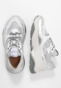 Selected Femme - Sneakers laag - silver - 3
