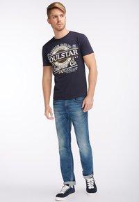 SOULSTAR - Print T-shirt - marine - 1