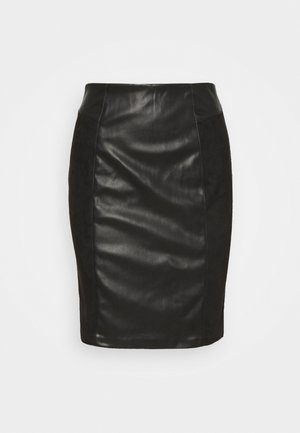 ONLELISA MIX SKIRT - Mini skirts  - black