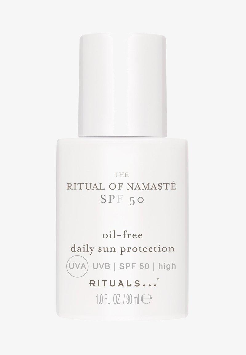Rituals - THE RITUAL OF NAMASTÉ SPF 50 DAILY SUN PROTECTION - Sun protection - -