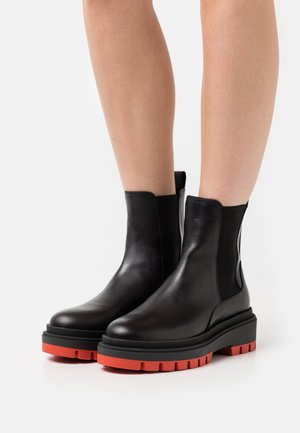 Classic ankle boots - black buttero