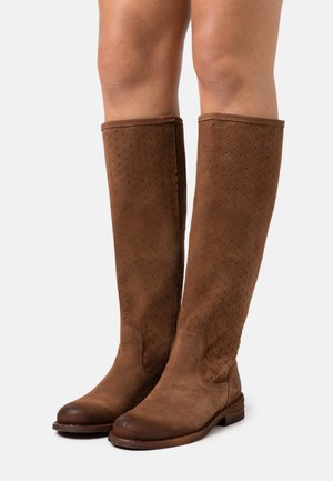 GREDO - Botas - marvin/picado brown