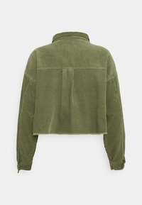 Cotton On - BUTTON SHACKET - Summer jacket - oil green - 1