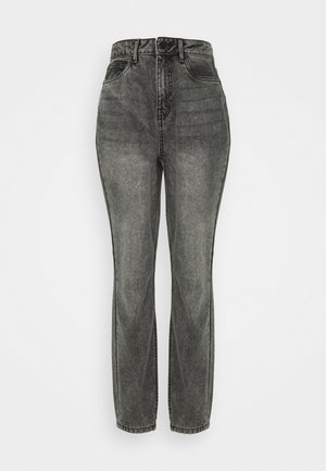 NMISABEL MOM - Jeans a sigaretta - grey denim