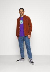 HUF - ACID HOUSE TEE - Long sleeved top - purple - 1