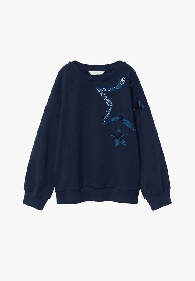STAR - Sweater - bleu marine foncé