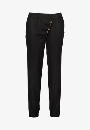 ALEXISAK - Tracksuit bottoms - black