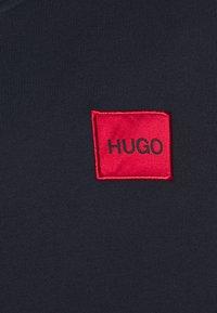HUGO - DAPLE - Mikina na zip - dark blue - 5