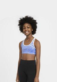 Nike Performance - Sports bra - royal pulse/white/white - 4