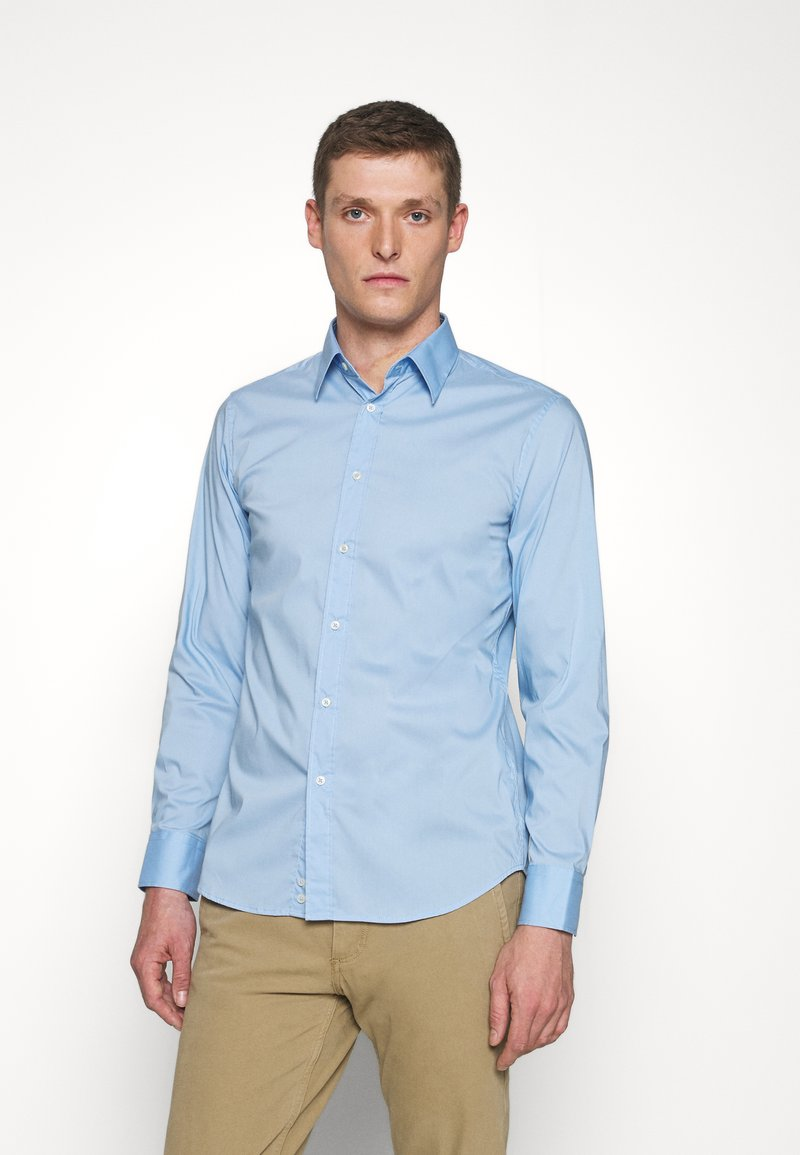 Benetton - BASIC - Formal shirt - light blue
