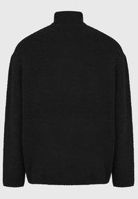 AllSaints - EAMONT FUNNEL - Fleece jumper - black - 4