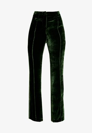 EMILY TROUSERS - Kalhoty - dark green
