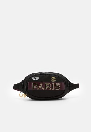 PARIS CROSSBODY - Bältesväska - black/bordeaux