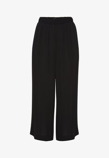 IHMARRAKECH - Trousers - new black