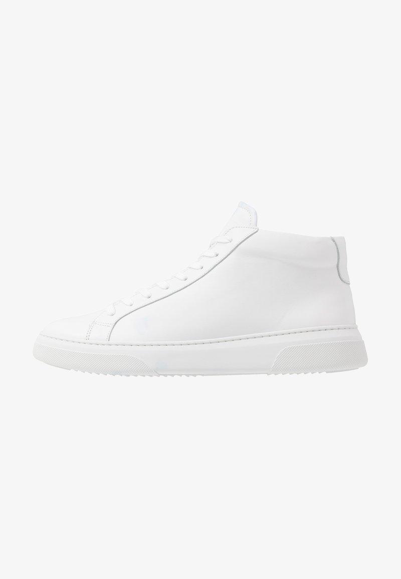 GARMENT PROJECT - Sneakersy wysokie - white