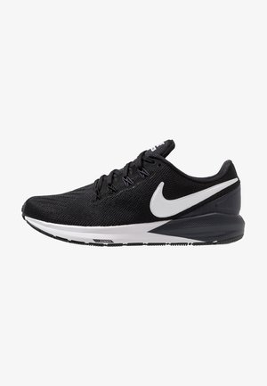AIR ZOOM STRUCTURE  - Stabilty running shoes - black/white/gridiron