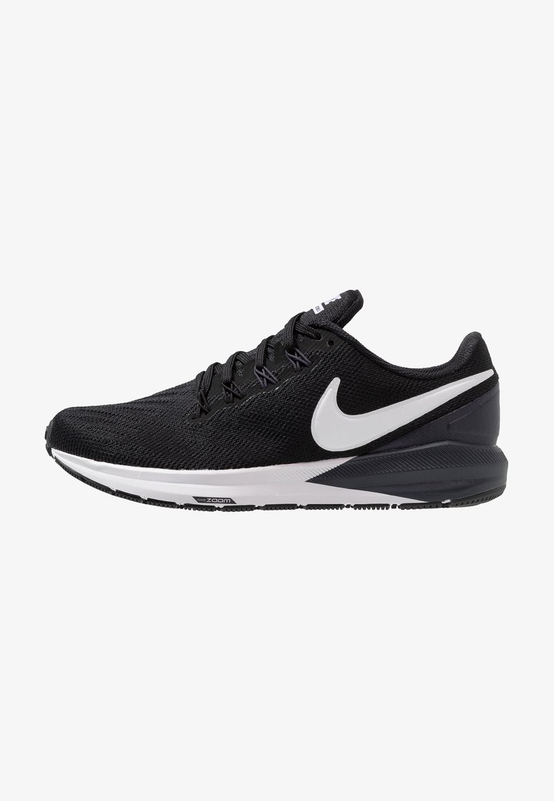 Nike Performance - AIR ZOOM STRUCTURE  - Stabilty running shoes - black/white/gridiron