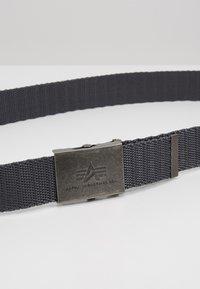 Alpha Industries - HEAVY DUTY BELT - Belt - grey - 5