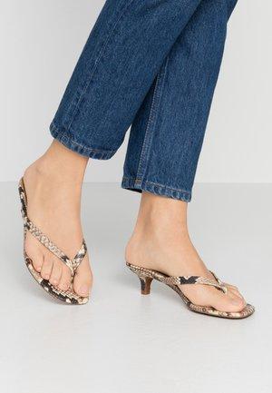 SIENA - Flip Flops - natural