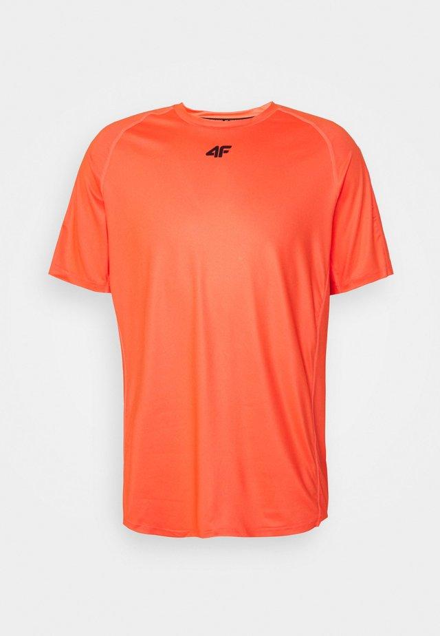 HERREN FELIAS - T-shirt imprimé - orange