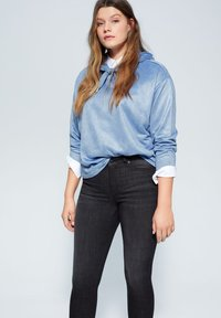 Violeta by Mango - IRENE - Jeans Skinny Fit - black denim - 3