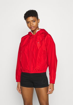 YOKE TAPE  - Windbreaker - deep crimson