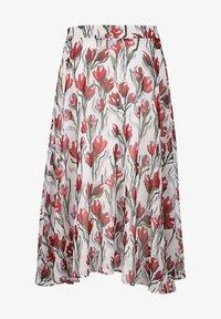 Alba Moda - A-line skirt - weiß,rot - 3