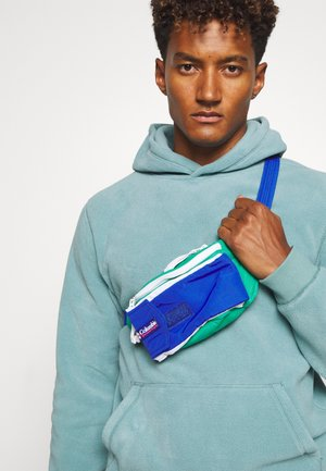 POPO PACK UNISEX - Bum bag - emerald green/lapis blue
