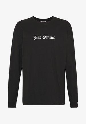 BAD OMENS - Pitkähihainen paita - black