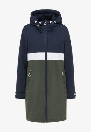 Klasický kabát - nachtblau dunkeloliv