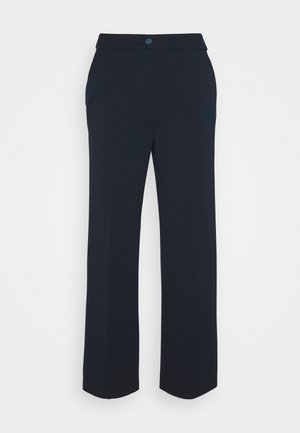 TOM TAILOR LEA CROPPED - Trousers - sky captain blue