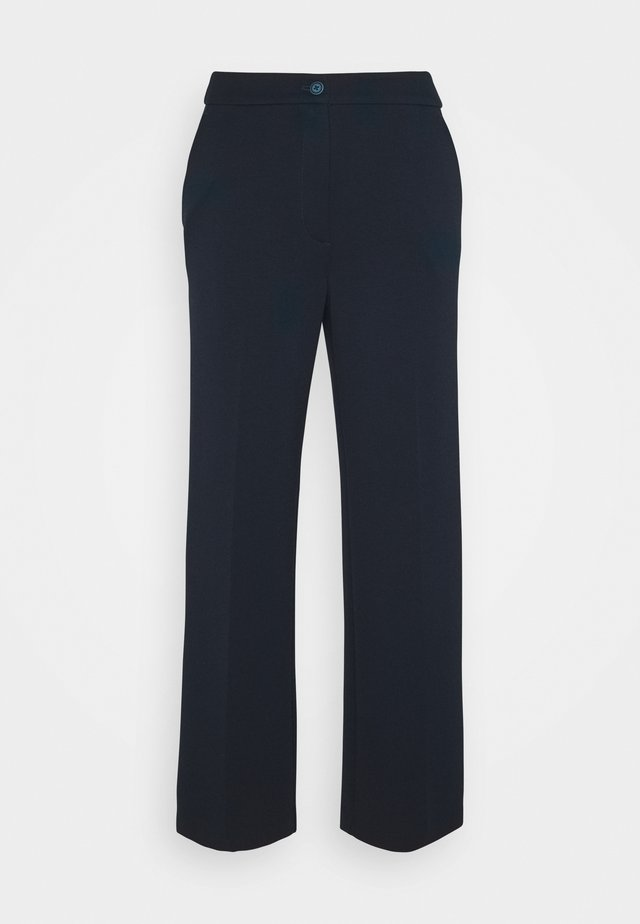 TOM TAILOR LEA CROPPED - Broek - sky captain blue