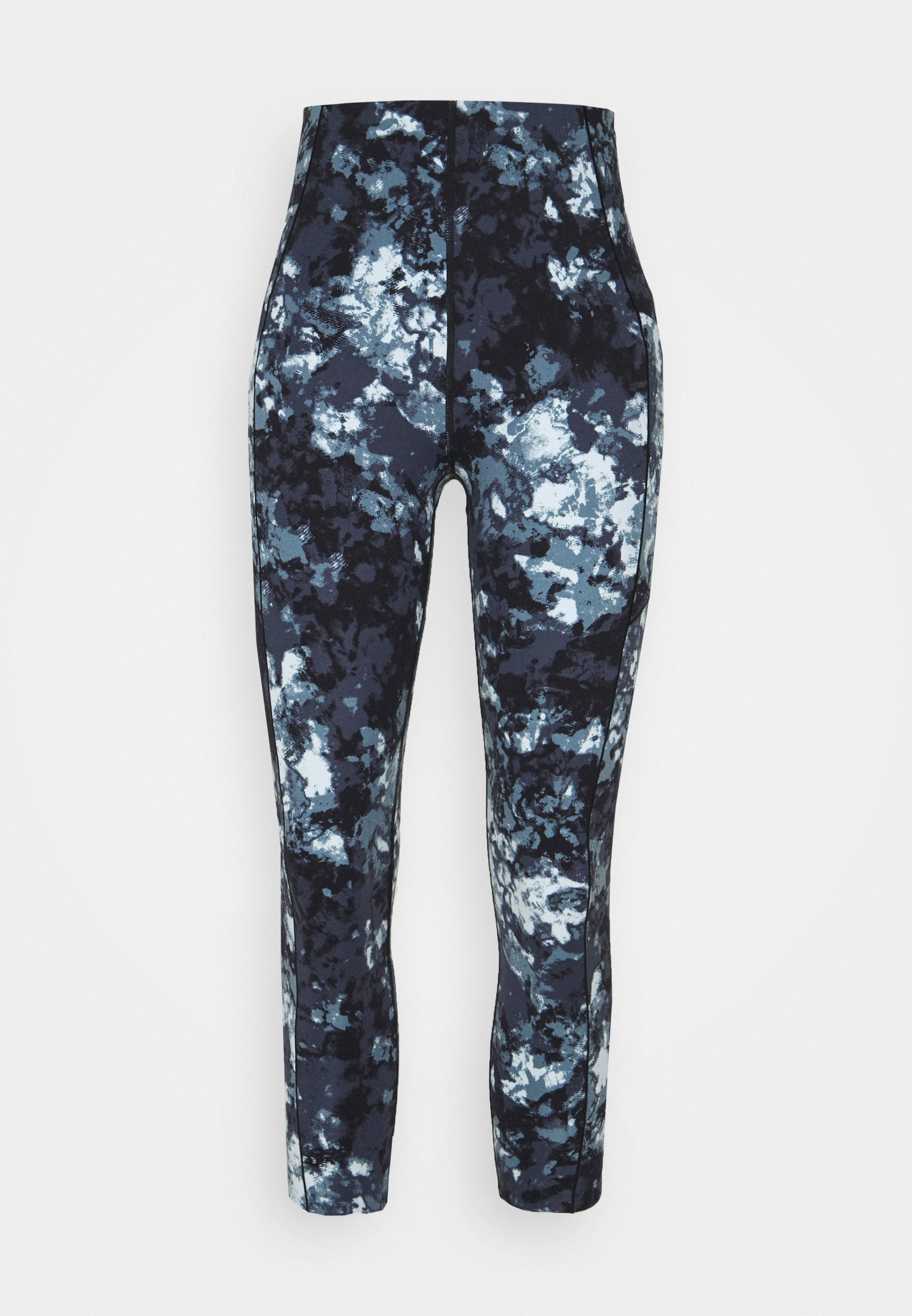 Femme POWER HIGH WAIST 7/8 WORKOUT LEGGINGS - Collants - blue