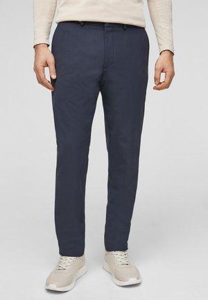 MIT HYPERSTRETCH - Pantaloni eleganti - dark blue