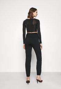 Missguided - BASIC - Spodnie treningowe - black - 2