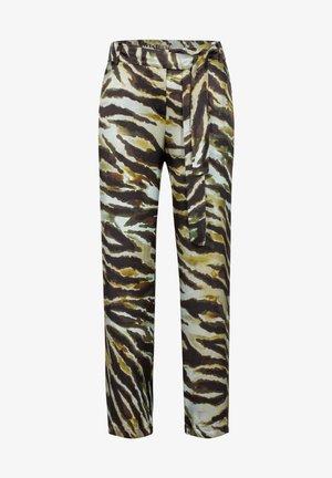 SAPHIR-682 95003 DRUCKHOSE - Trousers - grã¼n