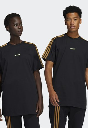 IVY PARK 3-STRIPES TEE UNISEX - Print T-shirt - black