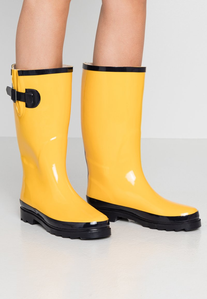 Anna Field - Gummistøvler - yellow