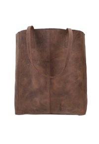 Gusti Leder - Tote bag - dark brown - 1