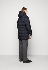 Henrik Vibskov - TILES LONG COAT - Winter jacket - navy - 2