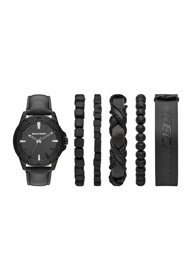 SKECHERS  SET  - Reloj - black