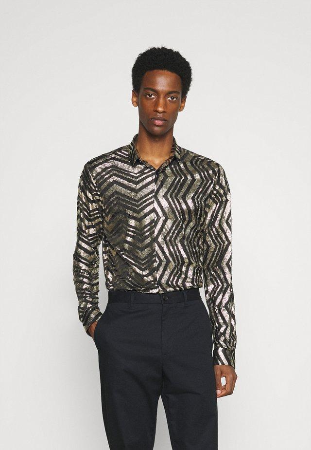 CHEGRIN - Camicia - black/gold