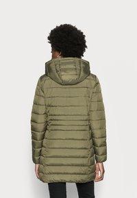 TOM TAILOR DENIM - LIGHT WEIGHT PUFFER COAT - Winter coat - deep olive green - 2