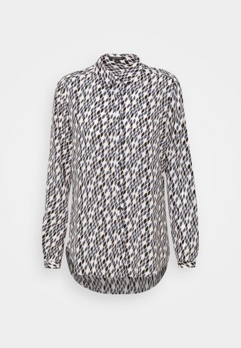 Button-down blouse - easy snake