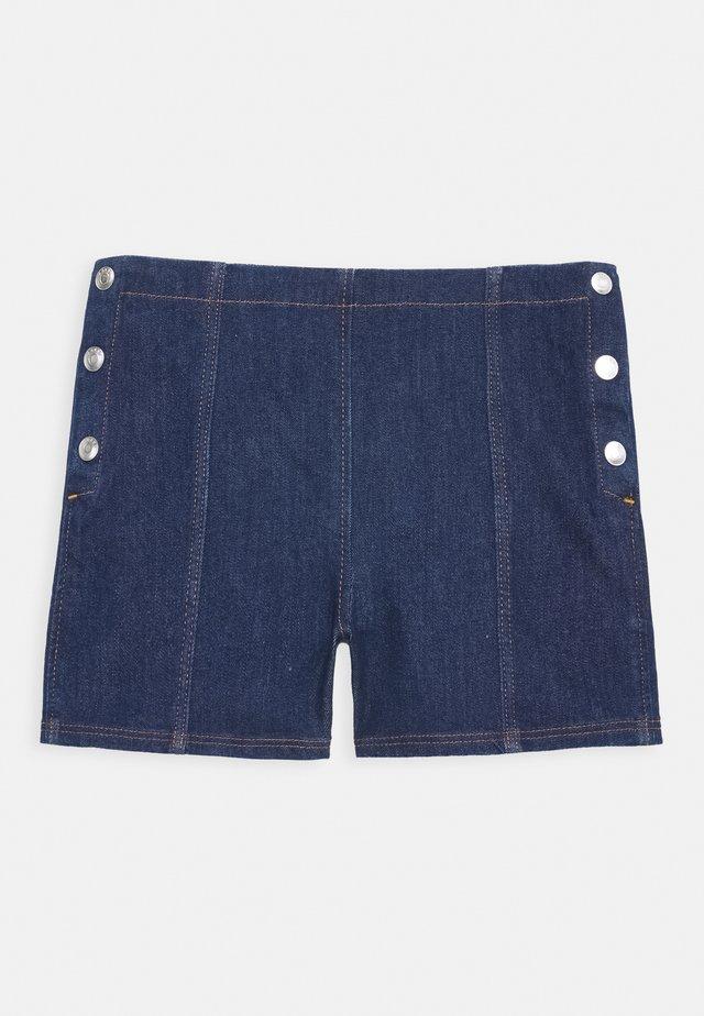 SHORT - Denim shorts - blue light