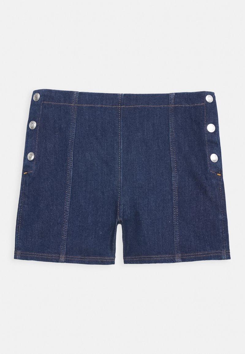 ARKET - SHORT - Denim shorts - blue light
