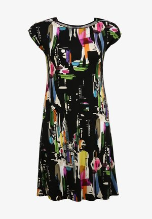 MIT ALLOVER-MUSTER - Day dress - multicolor