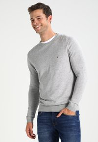 Tommy Hilfiger - C-NECK - Sweter - cloud heather - 0