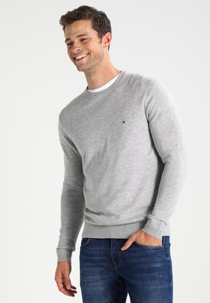 C-NECK - Strickpullover - cloud heather