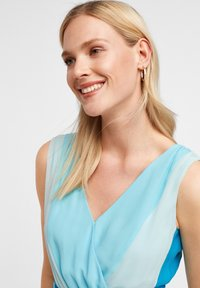 comma - MIT FARBVERLAUF - Day dress - turquoise - 3